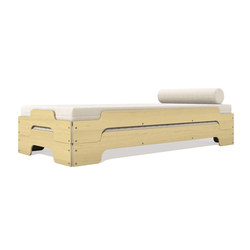 Stacking bed classic maple | Beds | Müller small living