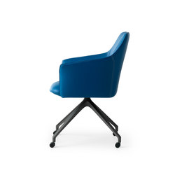 Mara Chair | Visitors chairs / Side chairs | Leolux