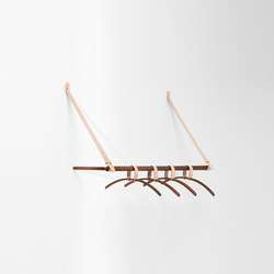 Belt hanging rack | Wandgarderoben | H Furniture