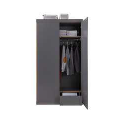 Flai Wardrobe CPL anthracite | Cabinets | Müller small living
