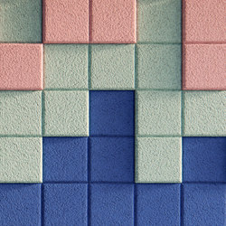 BAUX Acoustic 3D Pixel | Wall panels | BAUX