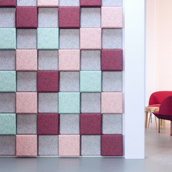 BAUX Acoustic 3D Pixel - Meeting informal | Wall panels | BAUX