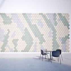 BAUX Acoustic Tiles - Campus Cofferoom | Paneles de pared | BAUX