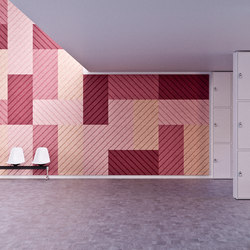 BAUX Acoustic Panels - Campus Lockerroom | Wood panels | BAUX