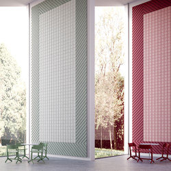 BAUX Acoustic Tiles - Campus Meeting Space | Paneles de pared | BAUX