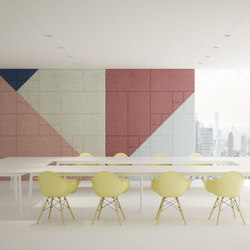 BAUX Acoustic Tiles - Meeting Room | Wood panels | BAUX