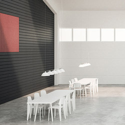 BAUX Acoustic Tiles/Panels - Meeting Room | Wood panels | BAUX
