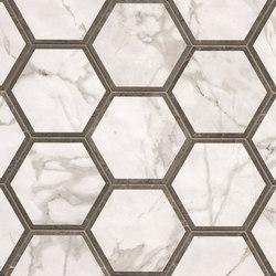 Roma Decò Esagono Calacatta Imperiale | Piastrelle/mattonelle per pavimenti | Fap Ceramiche