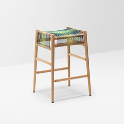 Loom bar stool by Ptolemy Mann | Taburetes de bar | H Furniture