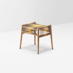 Loom stool by Ptolemy Mann | Hocker | H Furniture