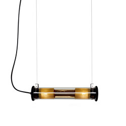 IN THE TUBE | 100-500 GOLD Suspension | Illuminazione generale | DCW éditions