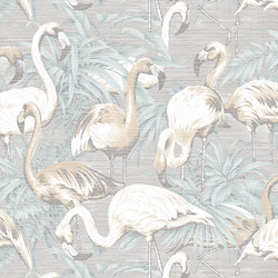 Avalon Flamingo | Wall coverings / wallpapers | Arte