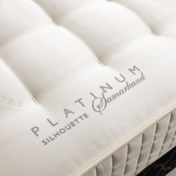 Sleeping Systems Collection Platinum | Mattress Silhouette Samarkand | Mattresses | Treca Interiors Paris