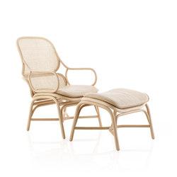 Frames Armchair / footstool | Armchairs | Expormim