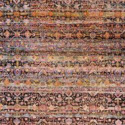 Kundan Pure Silk Classical Persian Flower Field | Formatteppiche / Designerteppiche | Zollanvari
