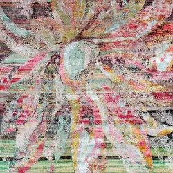 Kundan Pure Silk Passion Flower | Formatteppiche / Designerteppiche | Zollanvari
