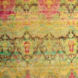 Kundan Diffusion Koti Silk Baroque Ikat | Alfombras / Alfombras de diseño | Zollanvari