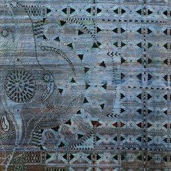 Kundan Pure Silk Peacock | Alfombras / Alfombras de diseño | Zollanvari