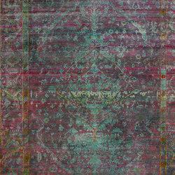 Kundan Pure Silk Medallion Design | Tappeti / Tappeti d'autore | Zollanvari