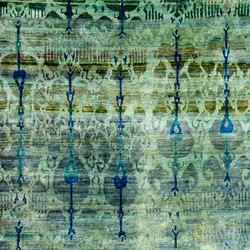 Kundan Diffusion Koti Silk Ikat | Formatteppiche / Designerteppiche | Zollanvari