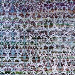 Kundan Diffusion Koti Silk Ikat 7 Lilac Blue | Rugs | Zollanvari