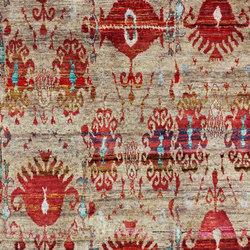 Kundan Diffusion Koti Silk Ikat Small Rug | Alfombras / Alfombras de diseño | Zollanvari