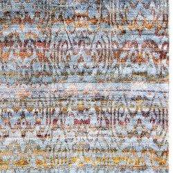 Kundan Diffusion Koti Silk Tiger Ikat | Alfombras / Alfombras de diseño | Zollanvari