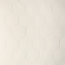 Phenomenon hexagon white | Mosaics | Ceramiche Mutina
