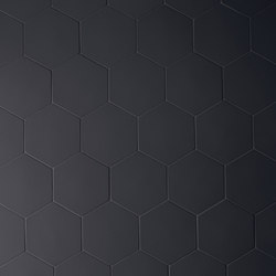 Phenomenon hexagon nero | Mosaici | Ceramiche Mutina