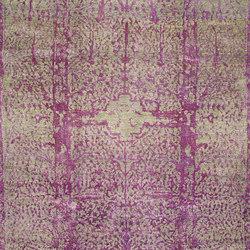 Designer Isfahan Classical Garden in Violet | Alfombras / Alfombras de diseño | Zollanvari
