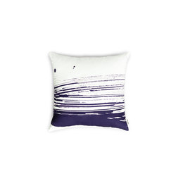 Wave & Brush Cushion Marine Blue | Cushions | NEW WORKS