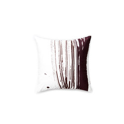Wave & Brush Cushion Dark Brown | Cushions | NEW WORKS