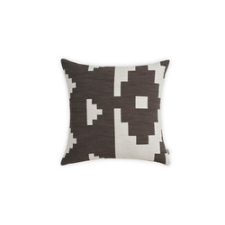 Ikat Cushion Dark Brown | Large | Cushions | NEW WORKS