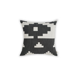 Ikat Cushion Black | Large | Cushions | NEW WORKS