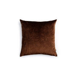 Velvet Cushion Dark Brown | Cushions | NEW WORKS