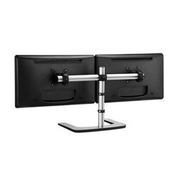 Dual Horizontal Freestanding Desk Mount VFS-DH | Monitor arms | Atdec