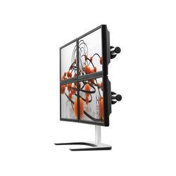 Quad Freestanding Desk Mount VFS-Q | Monitor arms | Atdec