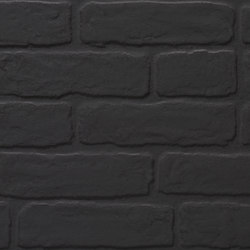 Wall Brick black | Ceramic tiles | KERABEN