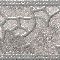 Uptown Listelo Art Silver | Ceramic tiles | KERABEN