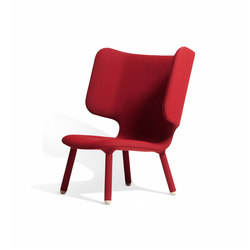 Tembo Lounge Chair Uniform Melange | Poltrone lounge | NEW WORKS