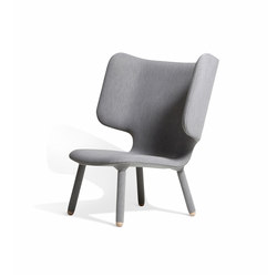 Tembo Lounge Chair Uniform Melange | Lounge chairs | NEW WORKS