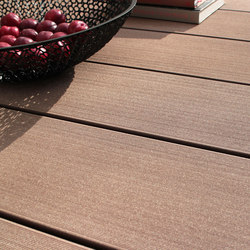 MYDECK PURE WIDE macao plain | Wood composite alternatives | MYDECK