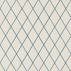 Rombini losange white blue | Mosaicos | Ceramiche Mutina