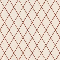 Rombini losange white red | Keramik Mosaike | Ceramiche Mutina