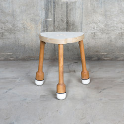 Crick Stool | Hocker | QoWood