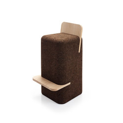 Cut High Stool | Barhocker | Blackcork