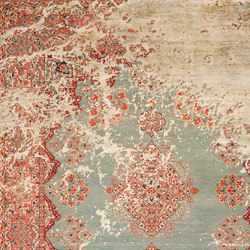 Erased Heritage | Kirman Robson Raved | Rugs / Designer rugs | Jan Kath