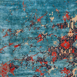 Erased Heritage | Bidjar Leyton Aerial | Formatteppiche | Jan Kath