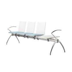 S 160 sièges sur poutre | Beam / traverse seating | Thonet