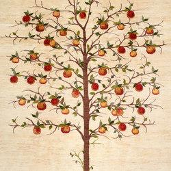 Gabbehs Flora & Fauna Tree of Life 1 | Tappeti / Tappeti d'autore | Zollanvari
